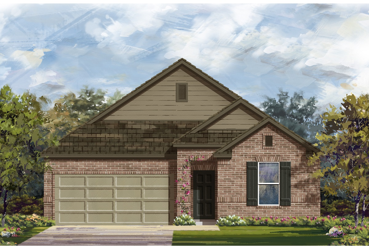 New Homes in Manor, TX - Elevation B
