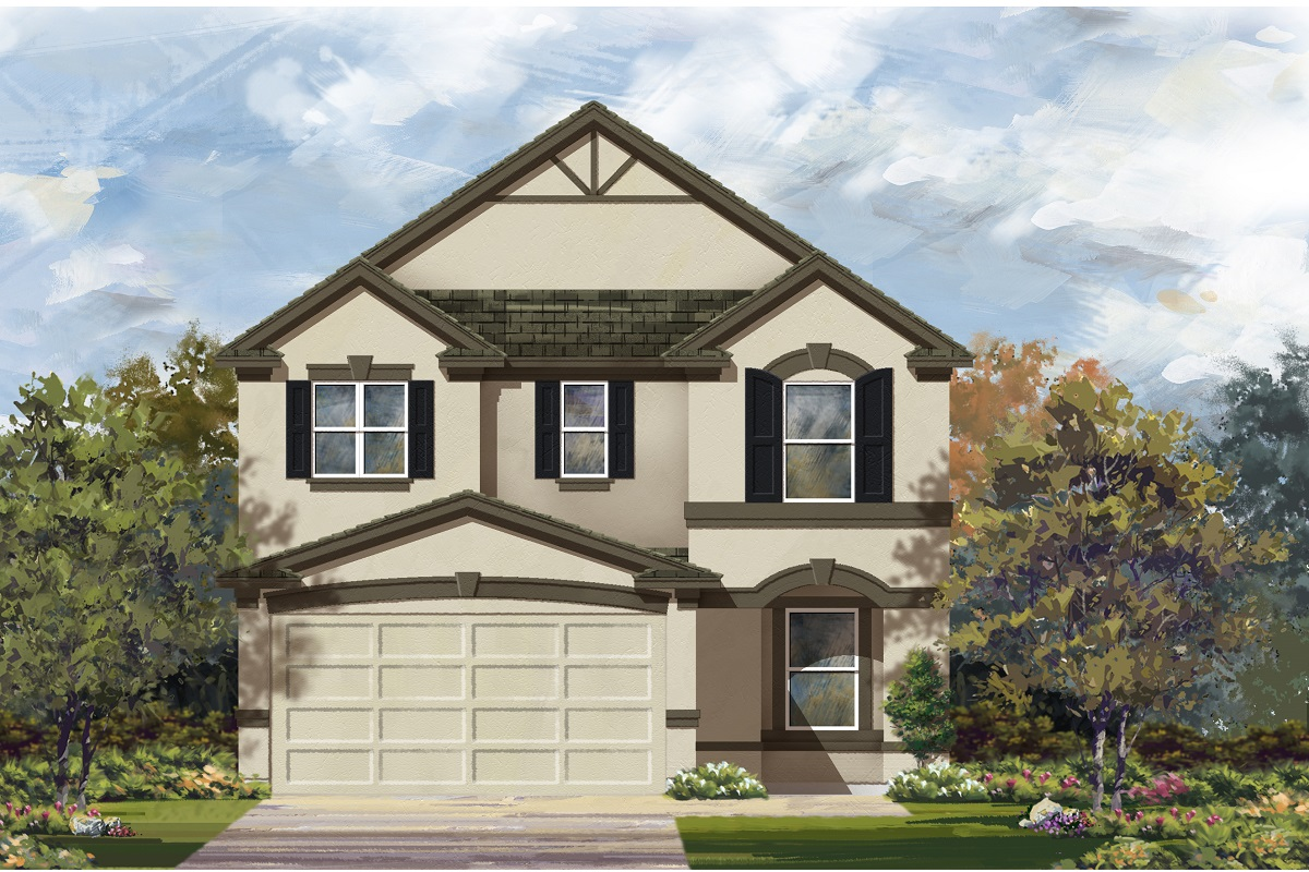 New Homes in Manor, TX - Plan F-2411