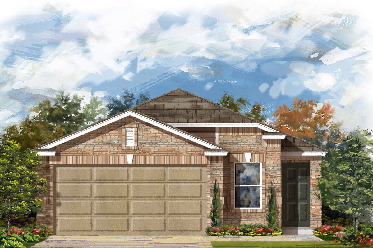 New Homes in Manor, TX - Elevation C