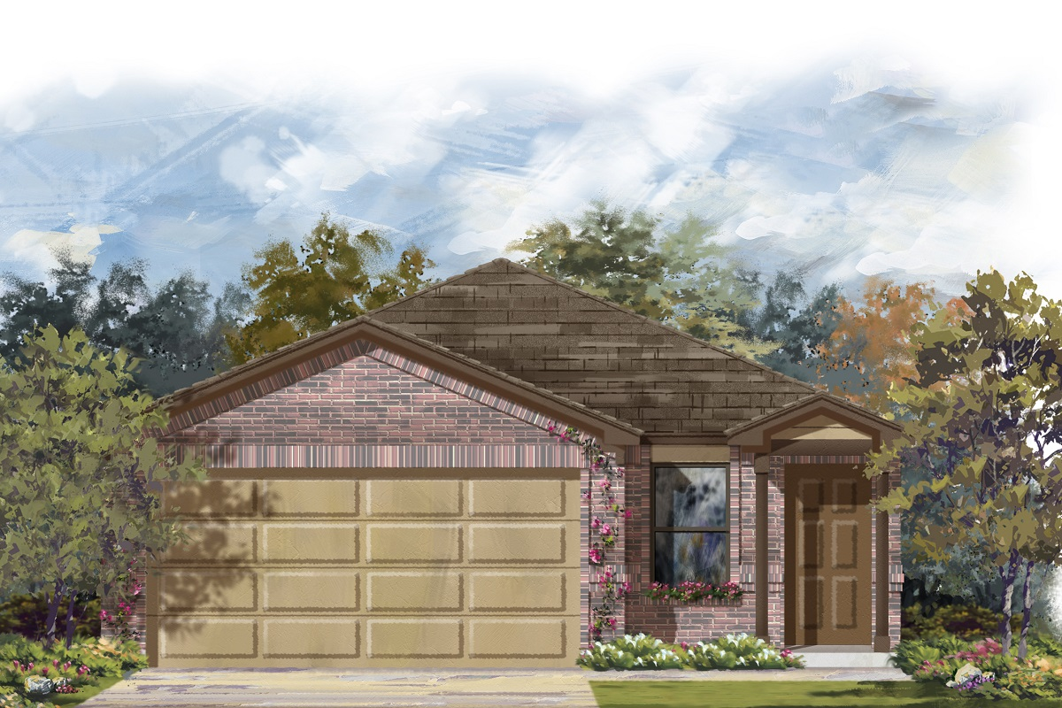 New Homes in Manor, TX - Plan 1340