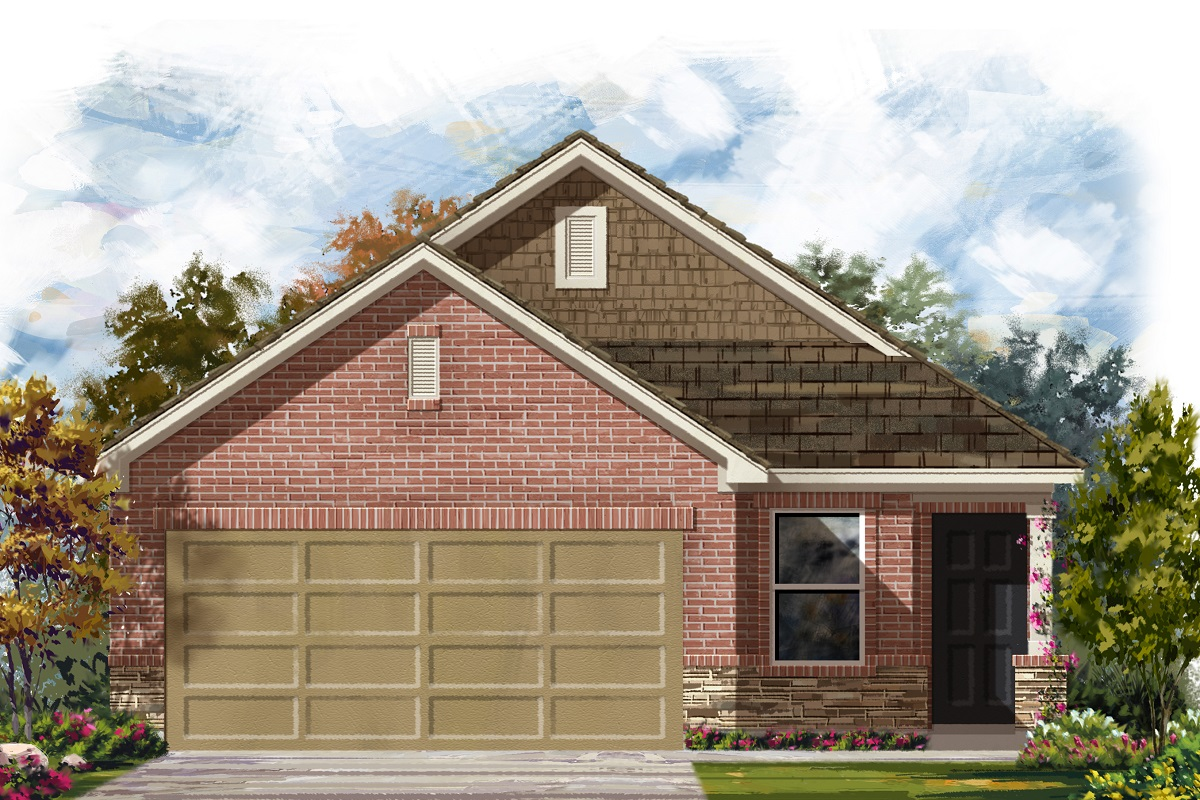 New Homes in Manor, TX - Elevation E