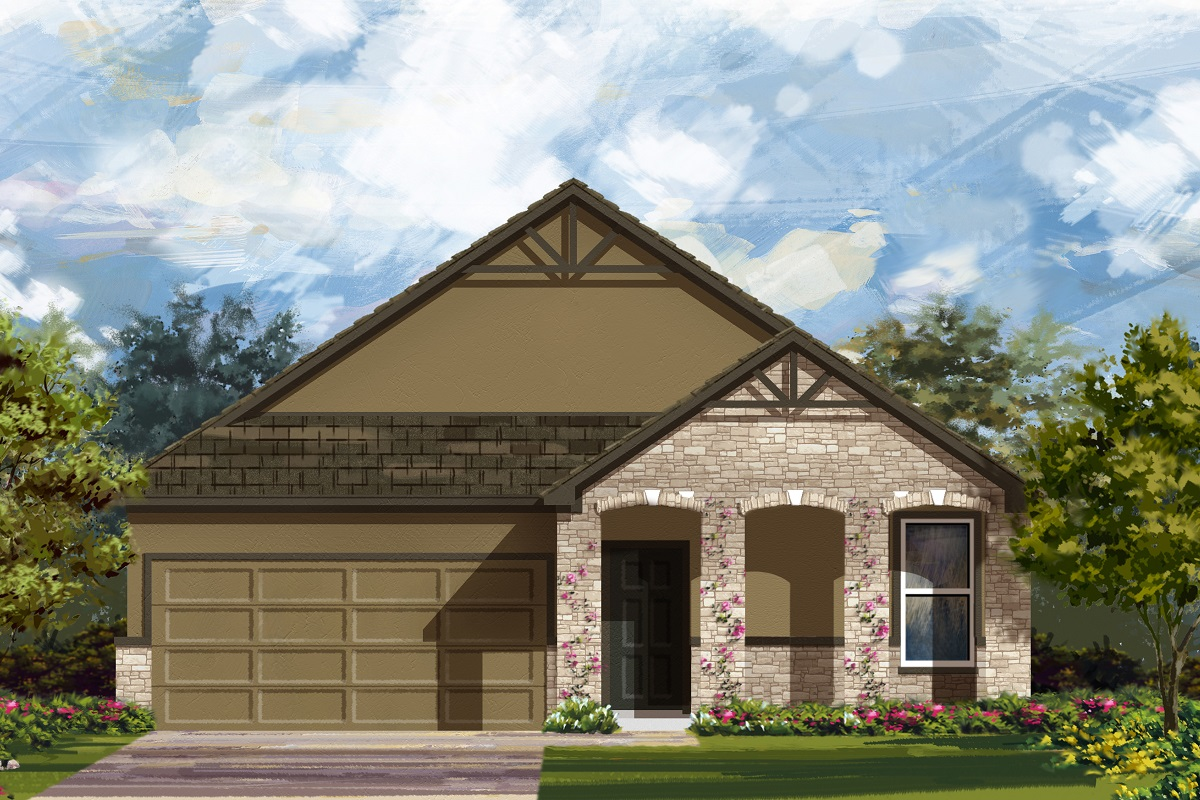 New Homes in Manor, TX - Elevation D