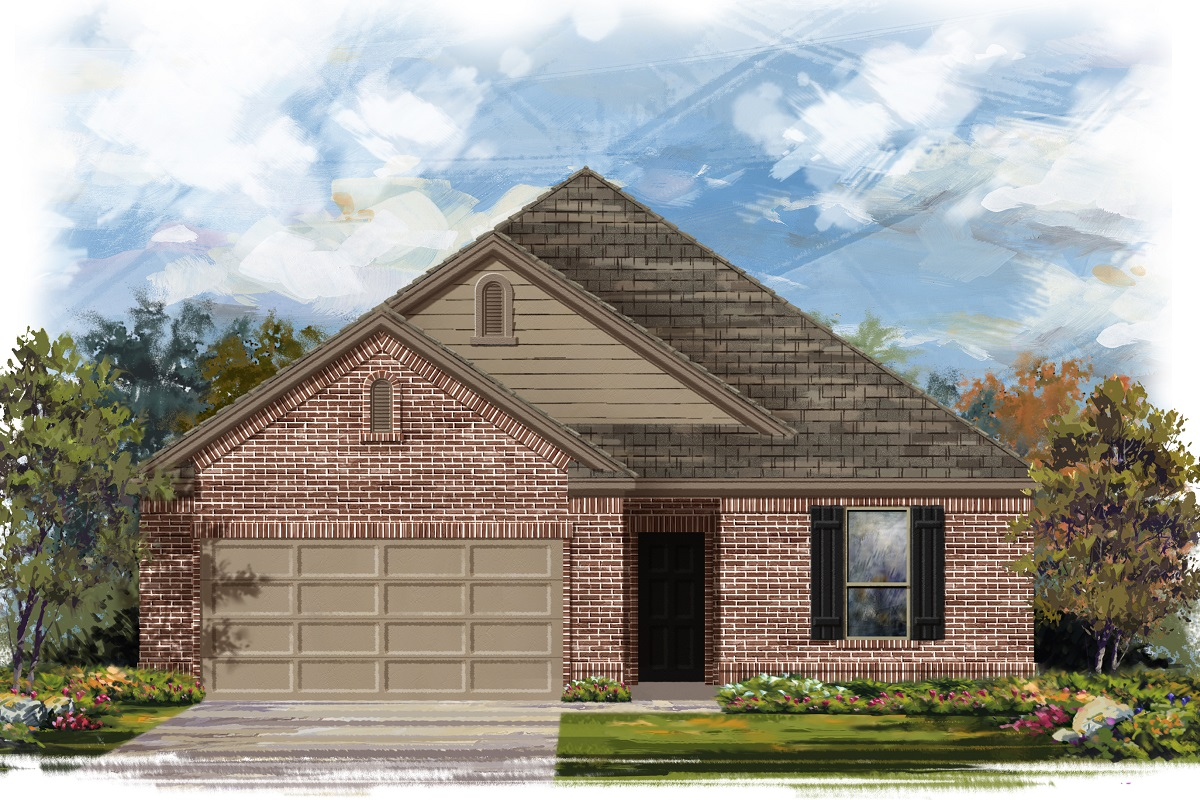 New Homes in Elgin, TX - Plan A-1675