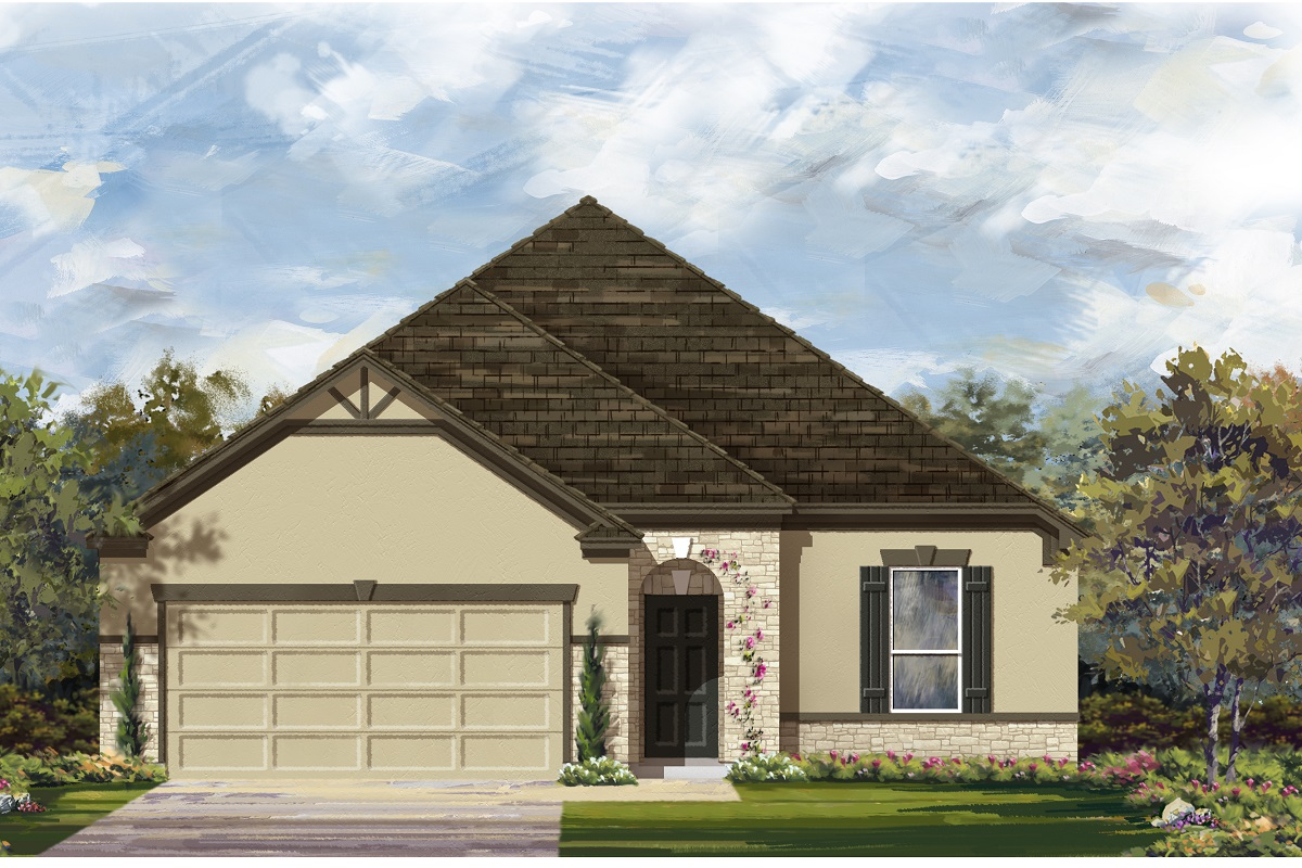 New Homes in Elgin, TX - Plan A-1675 4