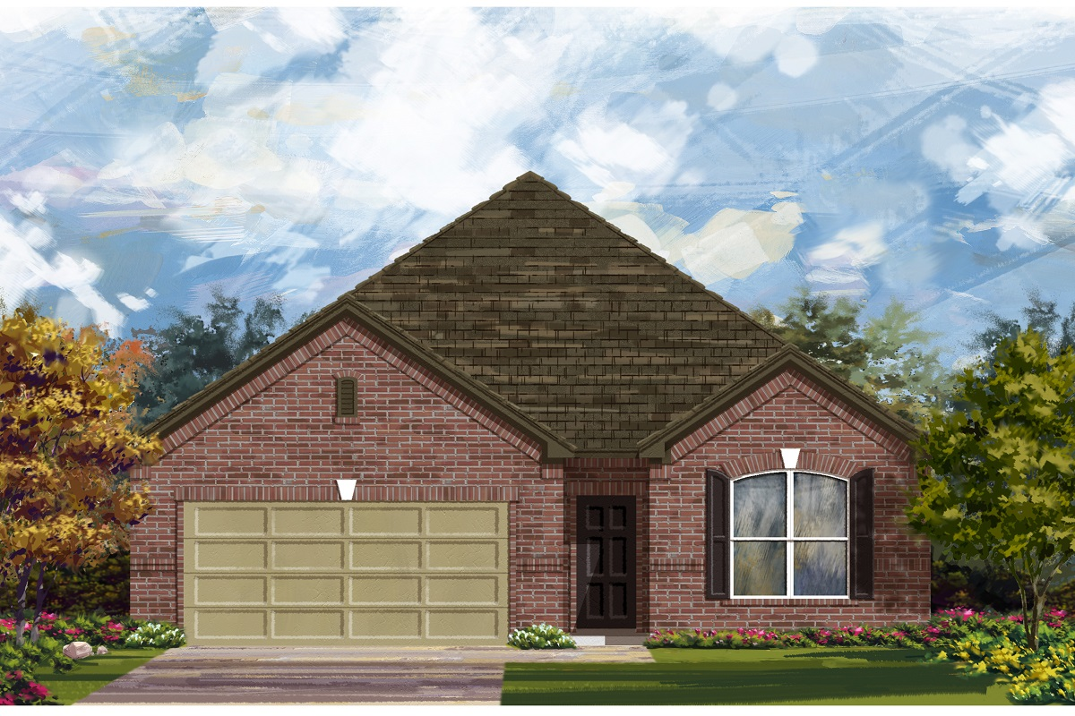 New Homes in Elgin, TX - Plan A-1852
