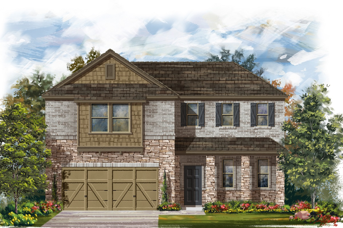 New Homes in Elgin, TX - Plan A-2502