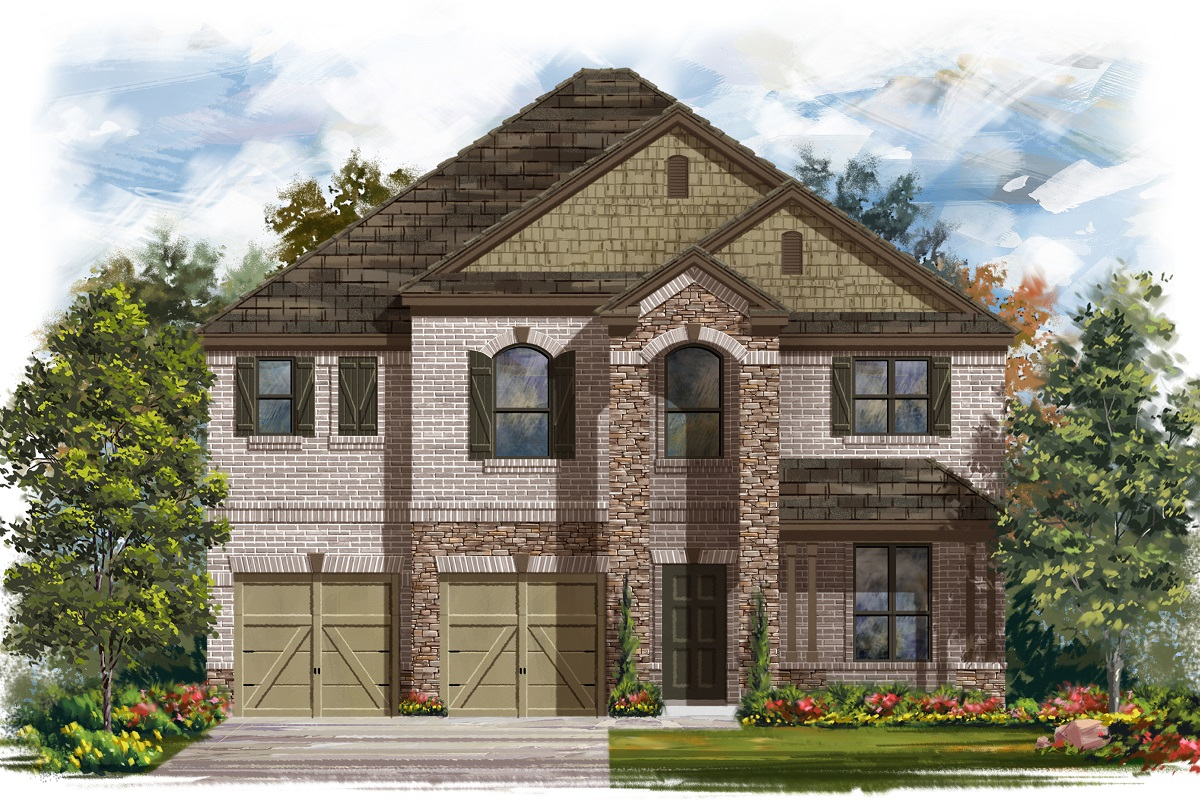New Homes in Elgin, TX - Plan A-2755