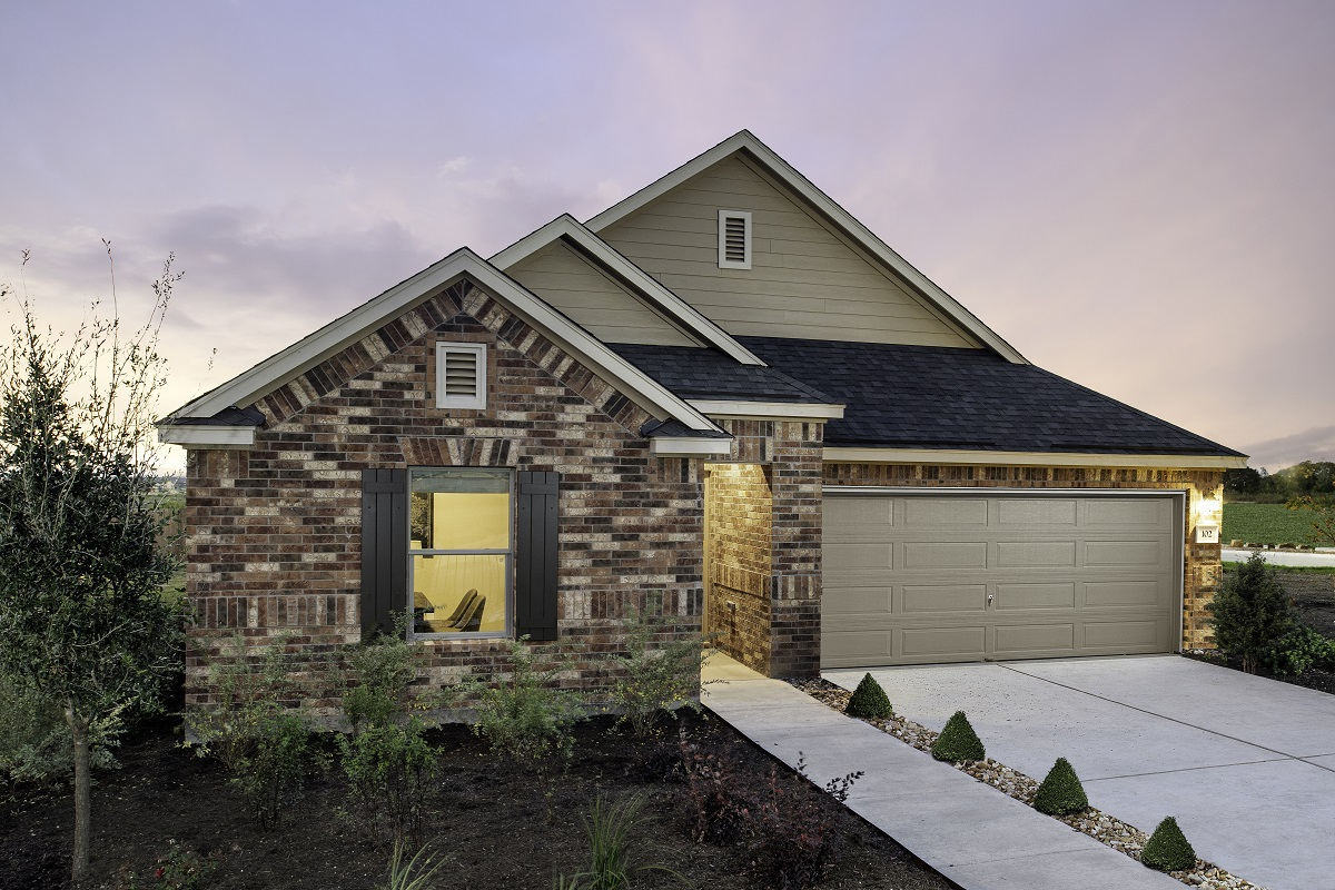 New Homes in Elgin, TX - Plan A-1491 Modeled
