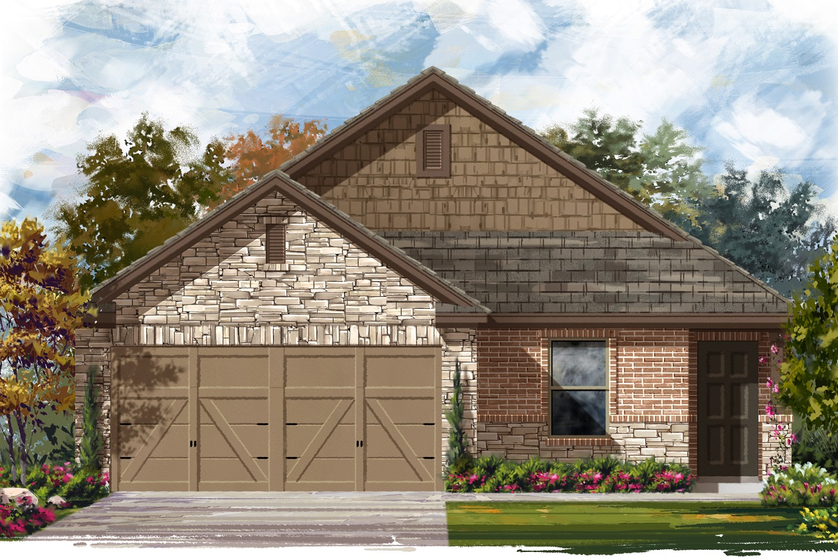 New Homes in Jarrell, TX - Plan 1246