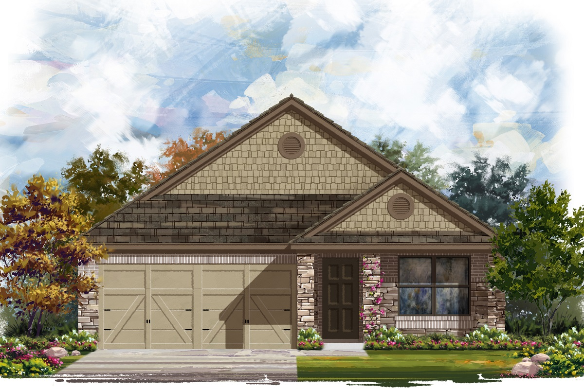 New Homes in Jarrell, TX - Plan 1647