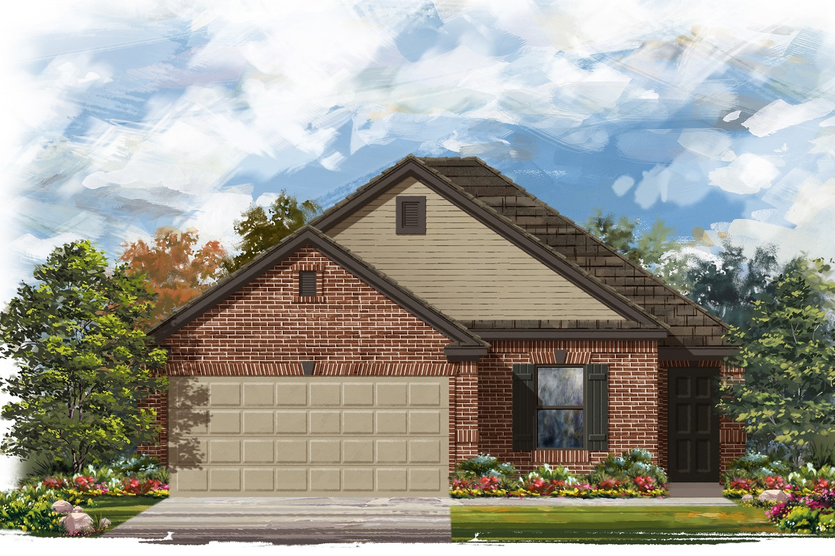 New Homes in Jarrell, TX - Plan 1694