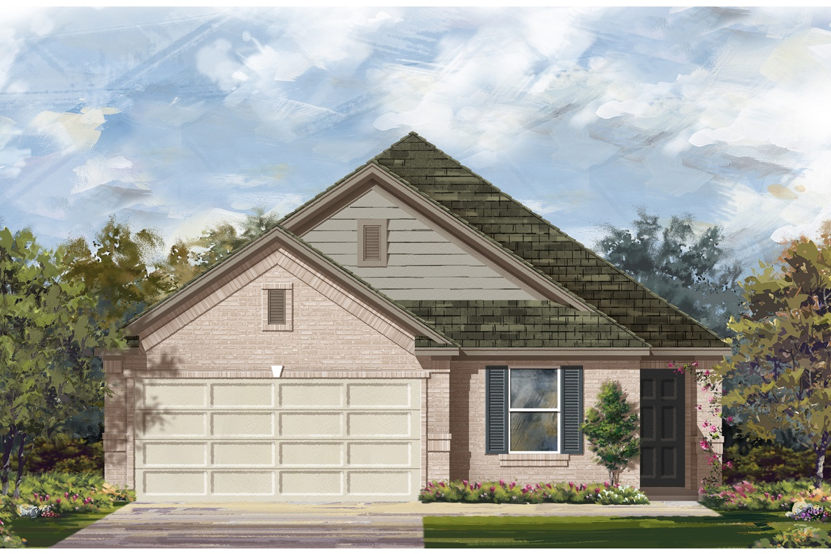 New Homes in Jarrell, TX - Plan E-1892 C