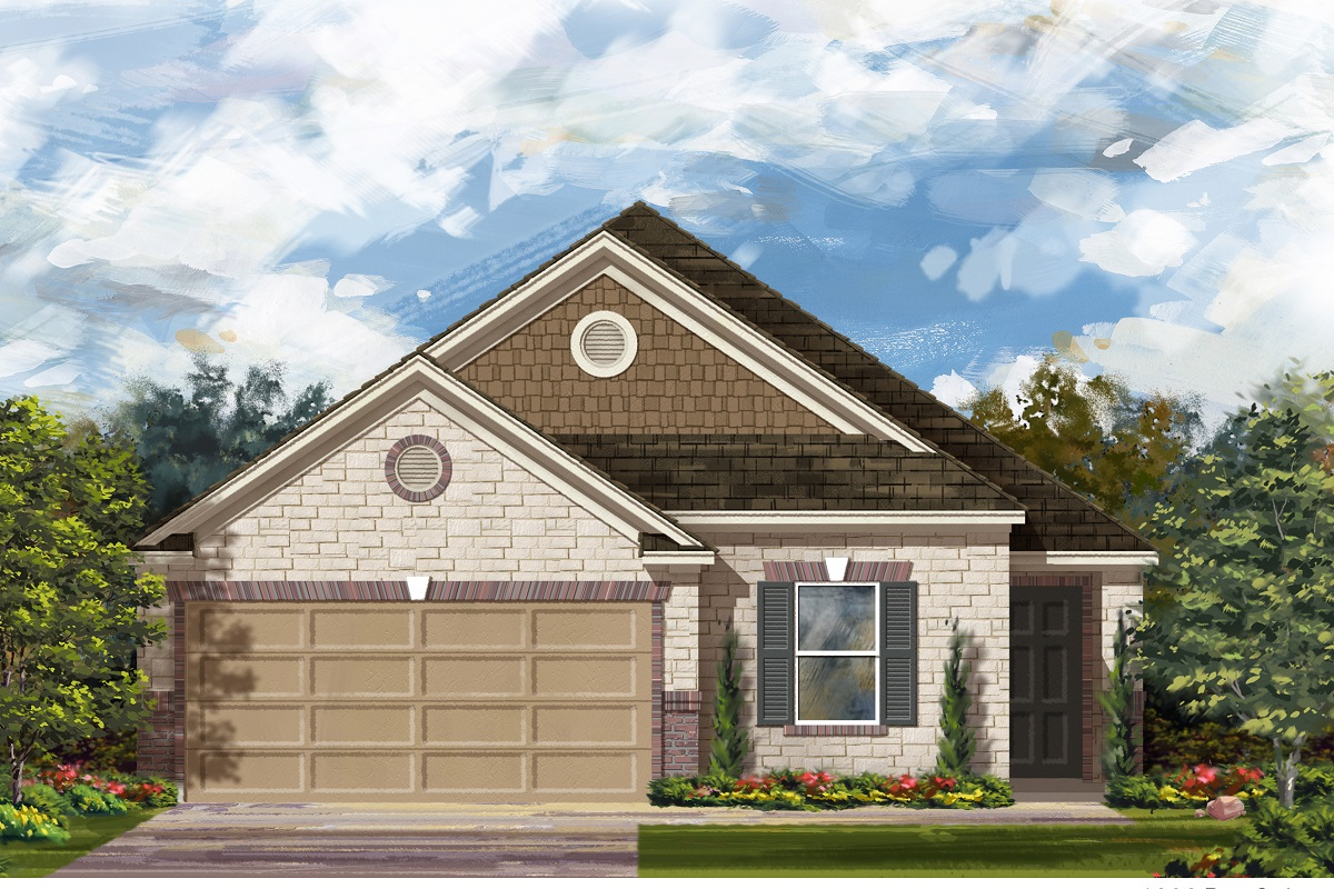 New Homes in Jarrell, TX - Plan E-1892 D