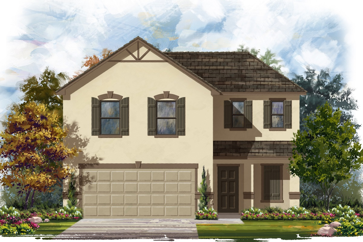 New Homes in Jarrell, TX - Plan E-1895 E