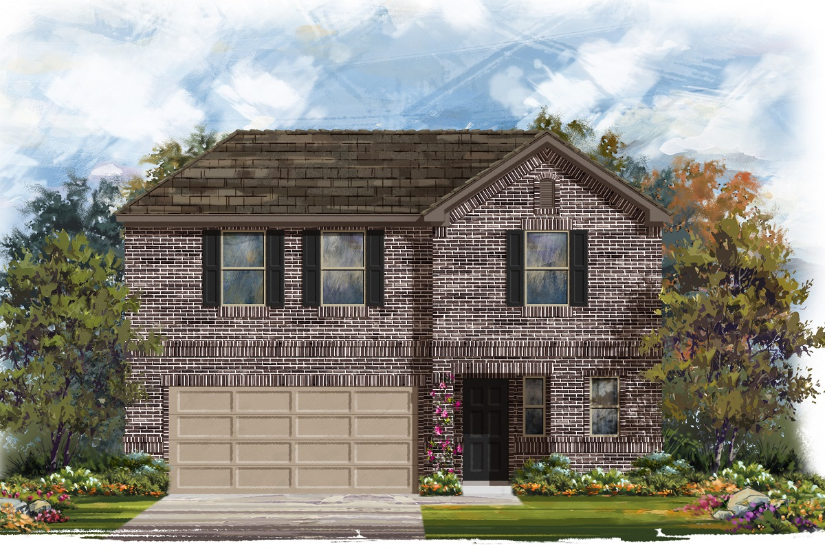 New Homes in Jarrell, TX - Plan 2412