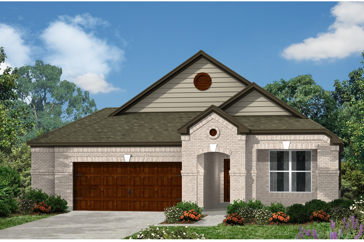 New Homes in Kyle, TX - Plan A-1965 B