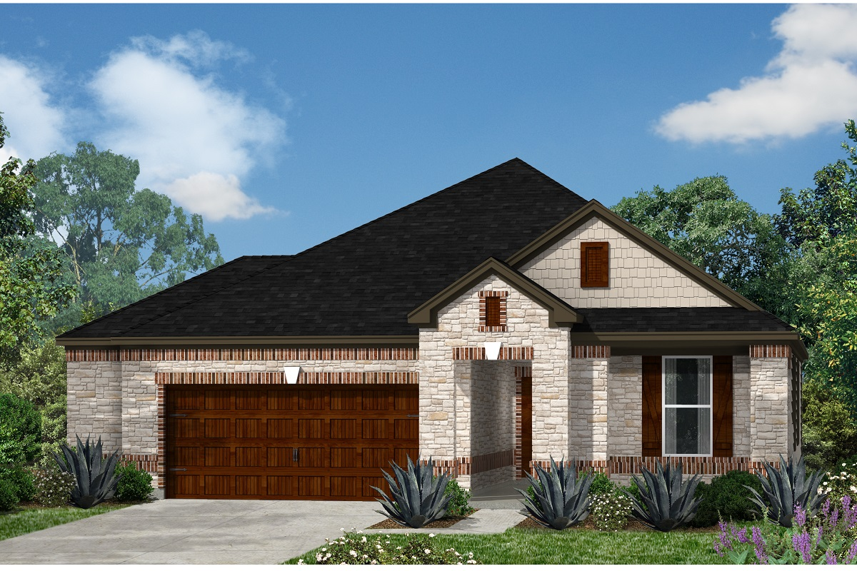 New Homes in Kyle, TX - Plan A-1965 C