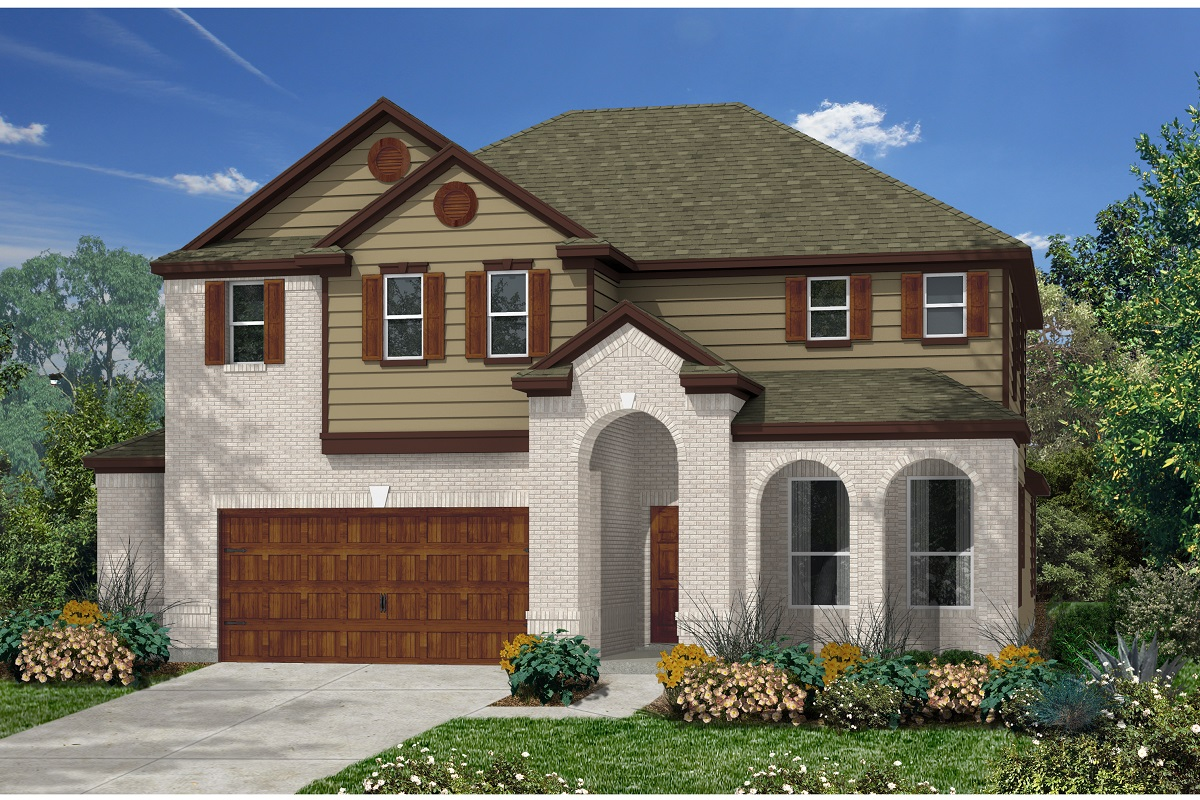 New Homes in Kyle, TX - Plan A-3023 A