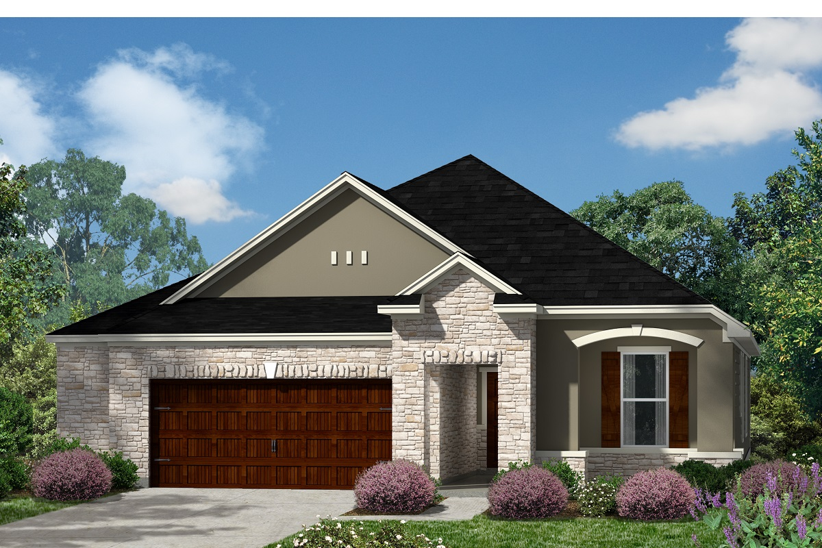 New Homes in Kyle, TX - Plan A-1965 D