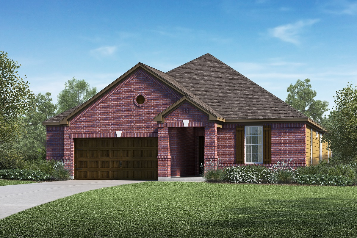 New Homes in Kyle, TX - Plan A-2382 B