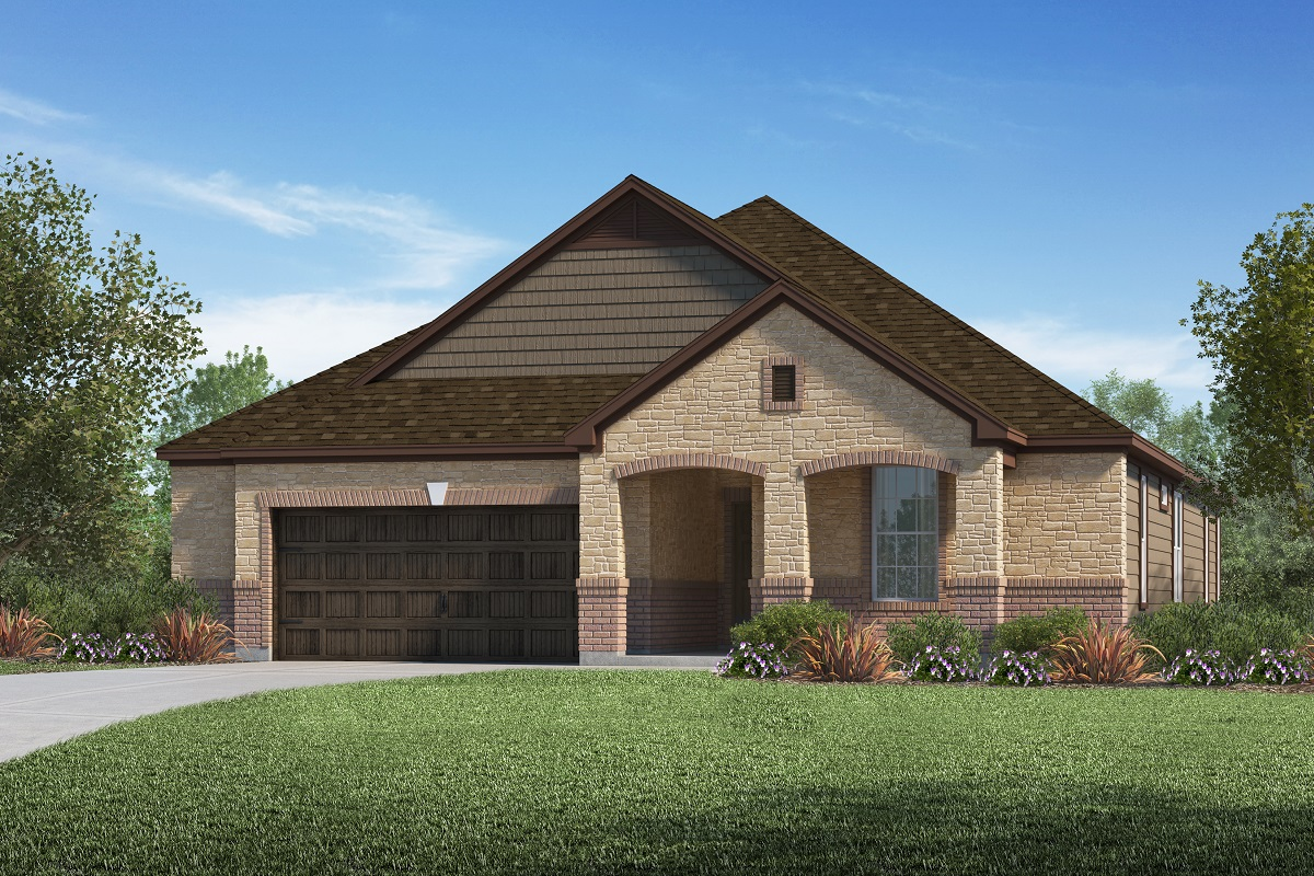 New Homes in Kyle, TX - Plan A-2382 C