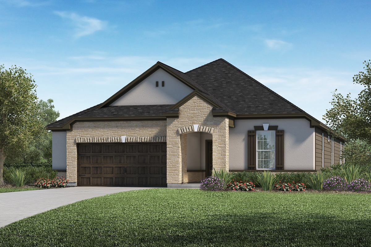New Homes in Kyle, TX - Plan A-2382 D