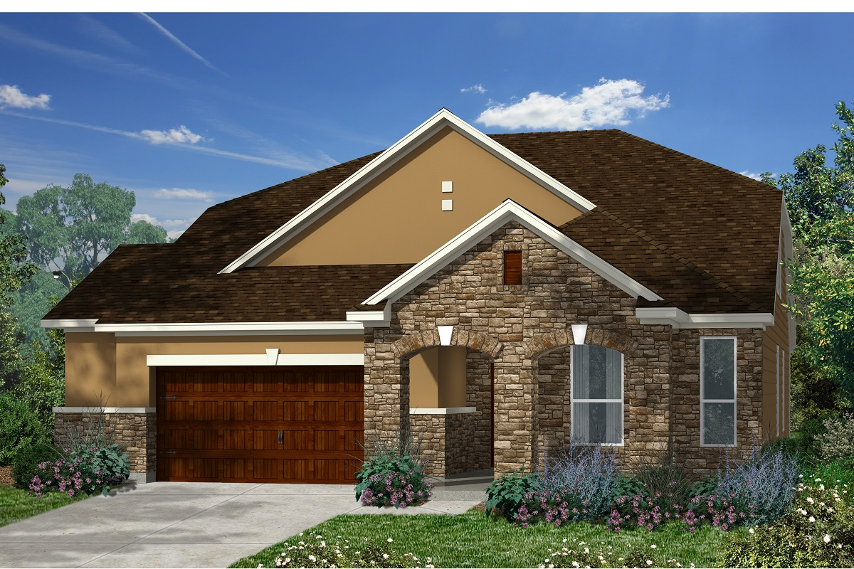 New Homes in Kyle, TX - Plan A-2655 D
