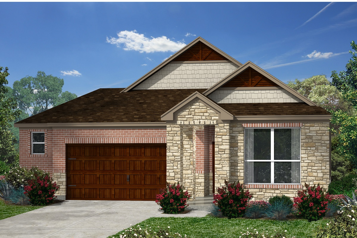 New Homes in Kyle, TX - Plan 1591