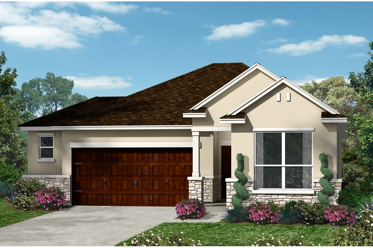 New Homes in Kyle, TX - Plan E-1591 K