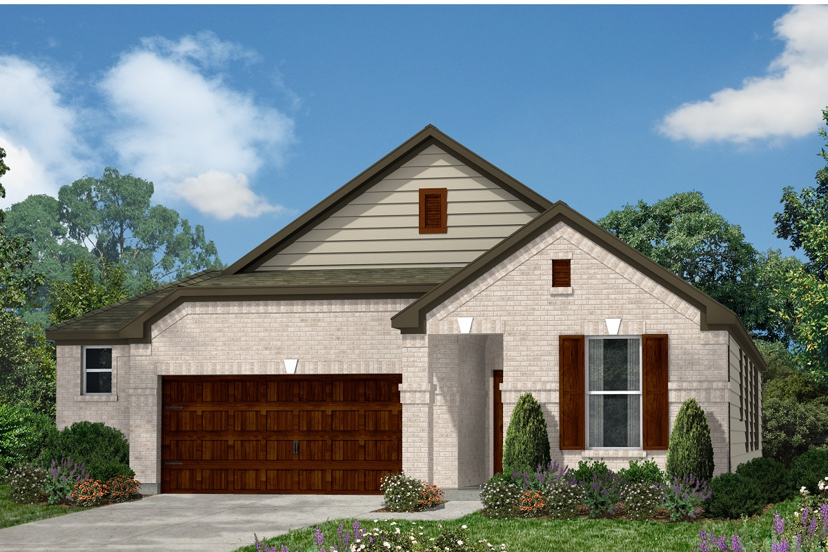 New Homes in Kyle, TX - Plan E-1647 H