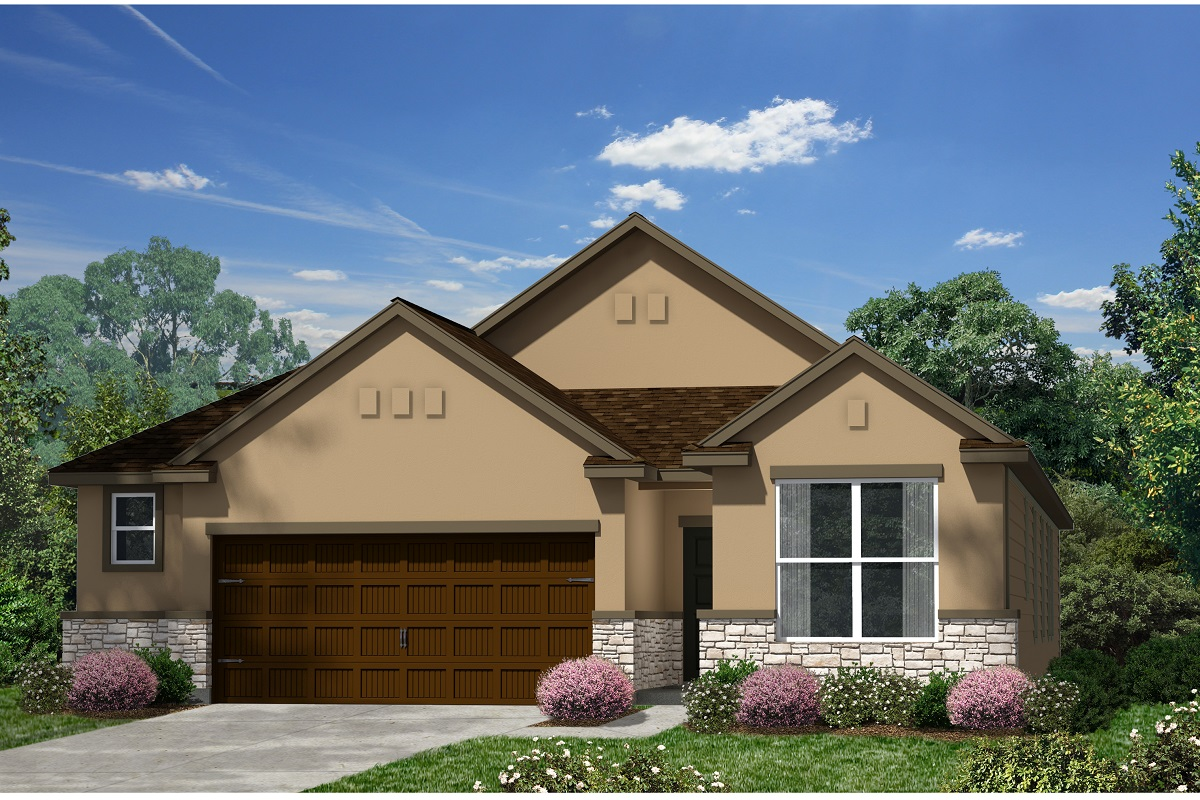 New Homes in Kyle, TX - Plan E-1647 K