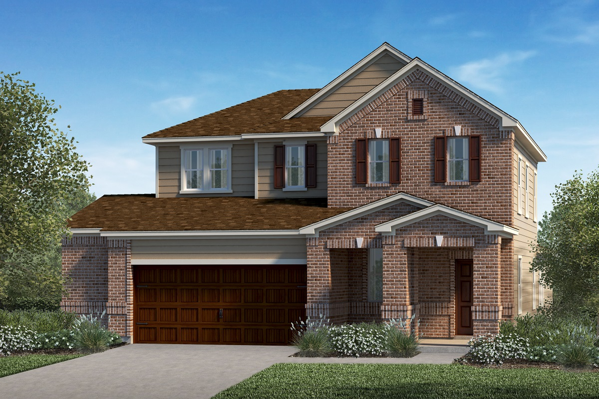 New Homes in Kyle, TX - Elevation I