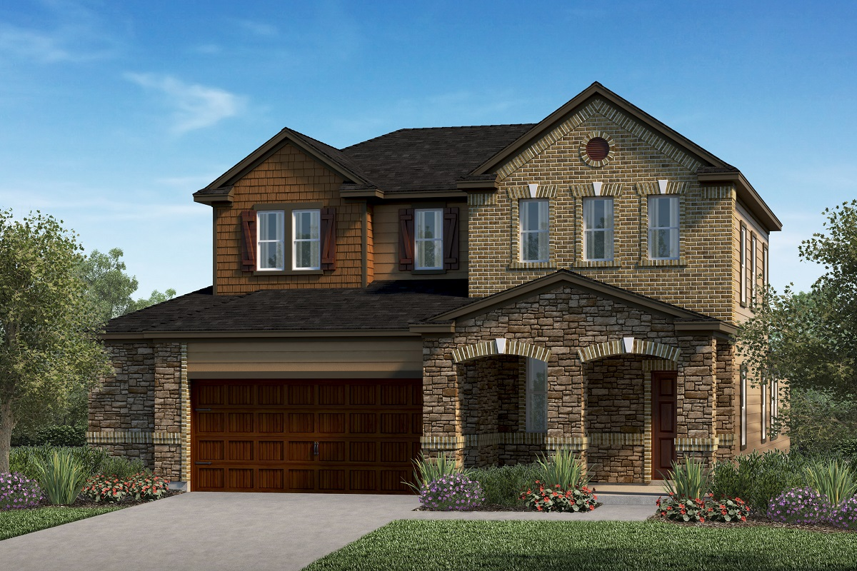 New Homes in Kyle, TX - Elevation J