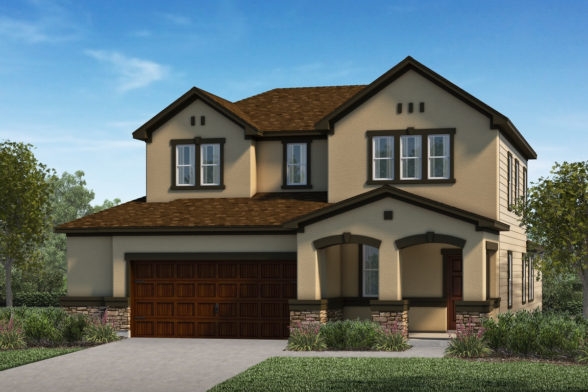 New Homes in Kyle, TX - Elevation K