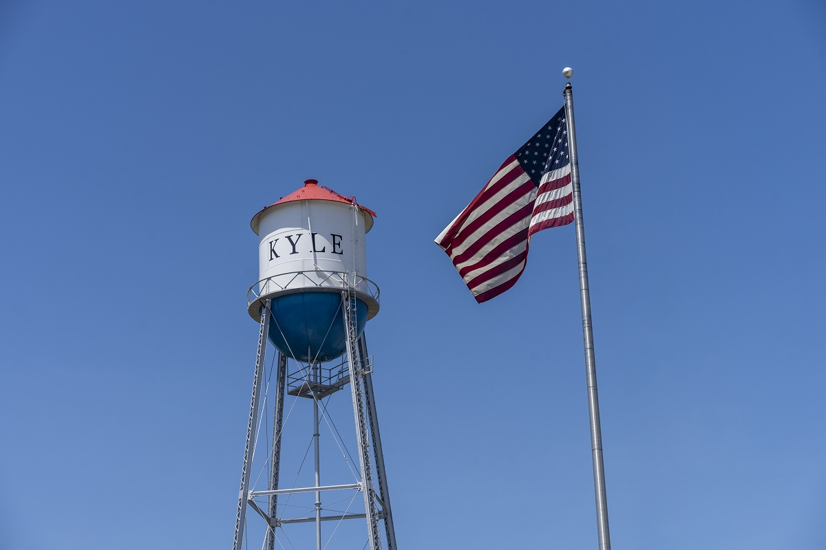 New Homes in Kyle, TX - Stagecoach Crossing Kyle Water Tower