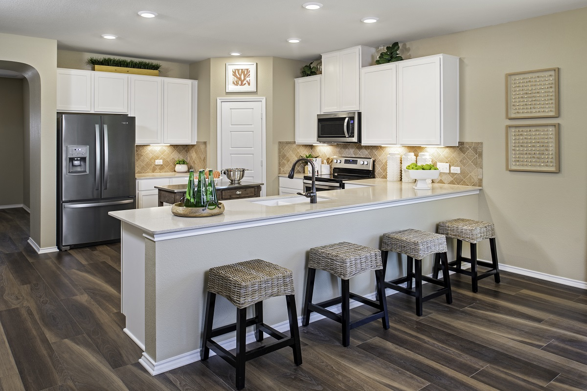 New Homes in Kyle, TX - Stagecoach Crossing Plan A-2089 Kitchen