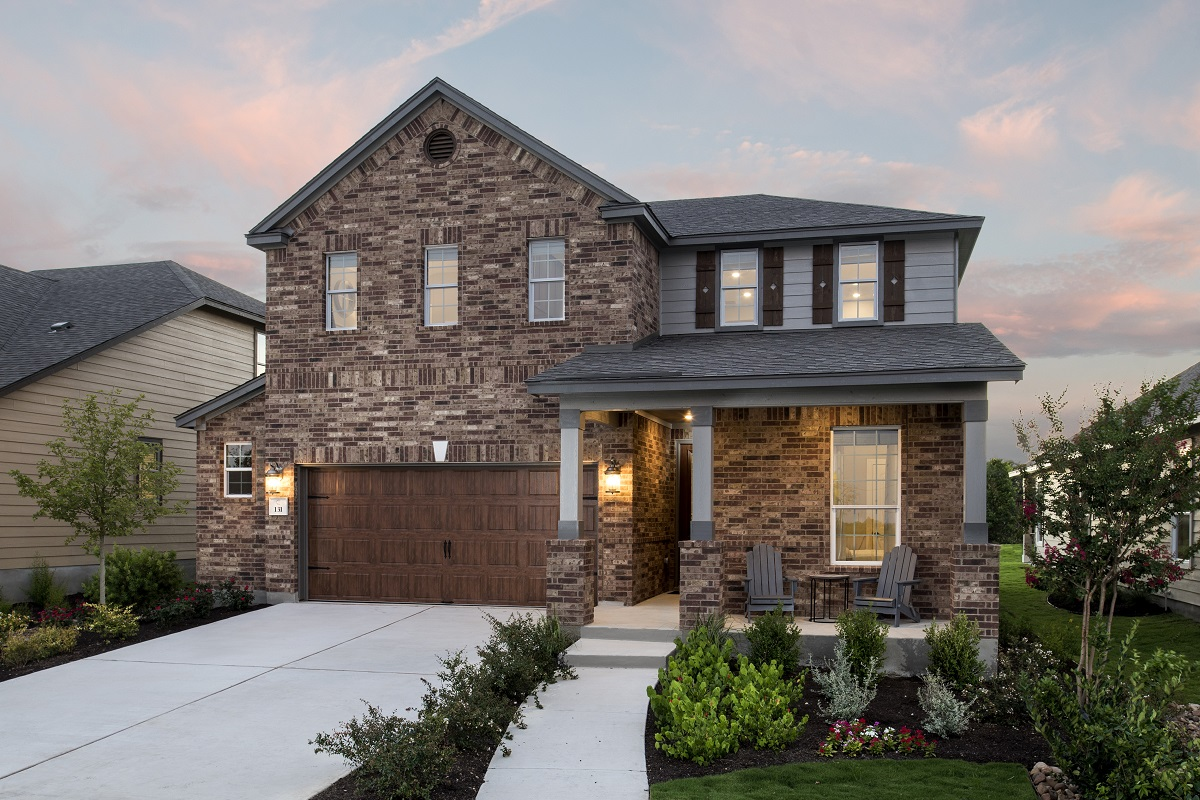New Homes in Kyle, TX - Stagecoach Crossing Plan E-2403