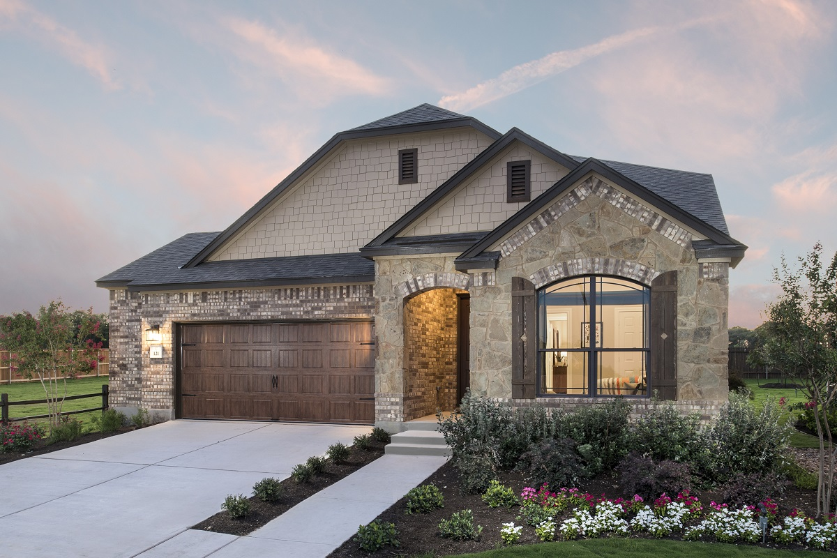 New Homes in Kyle, TX - Stagecoach Crossing Plan A-2655