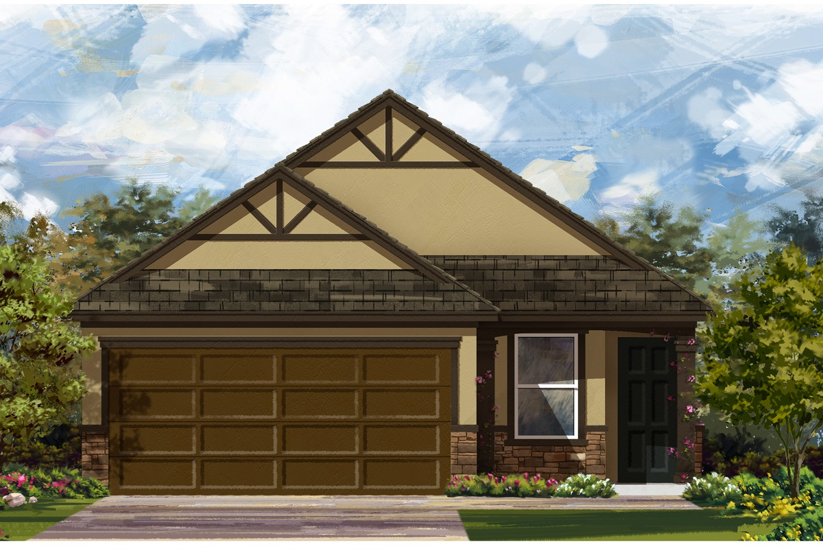 New Homes in Del Valle, TX - Plan 1585