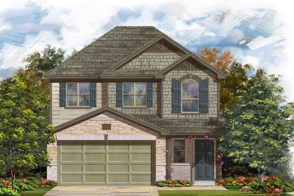 New Homes in Del Valle, TX - Plan 1601
