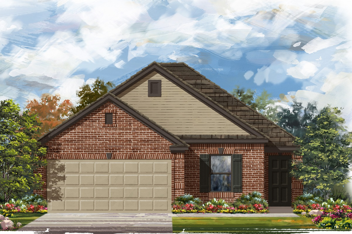 New Homes in Del Valle, TX - Plan E-1694 I