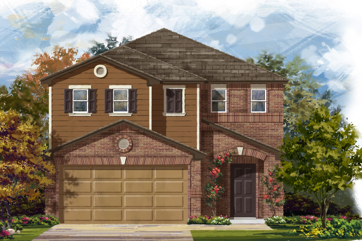 New Homes in Del Valle, TX - Plan F-1771 I