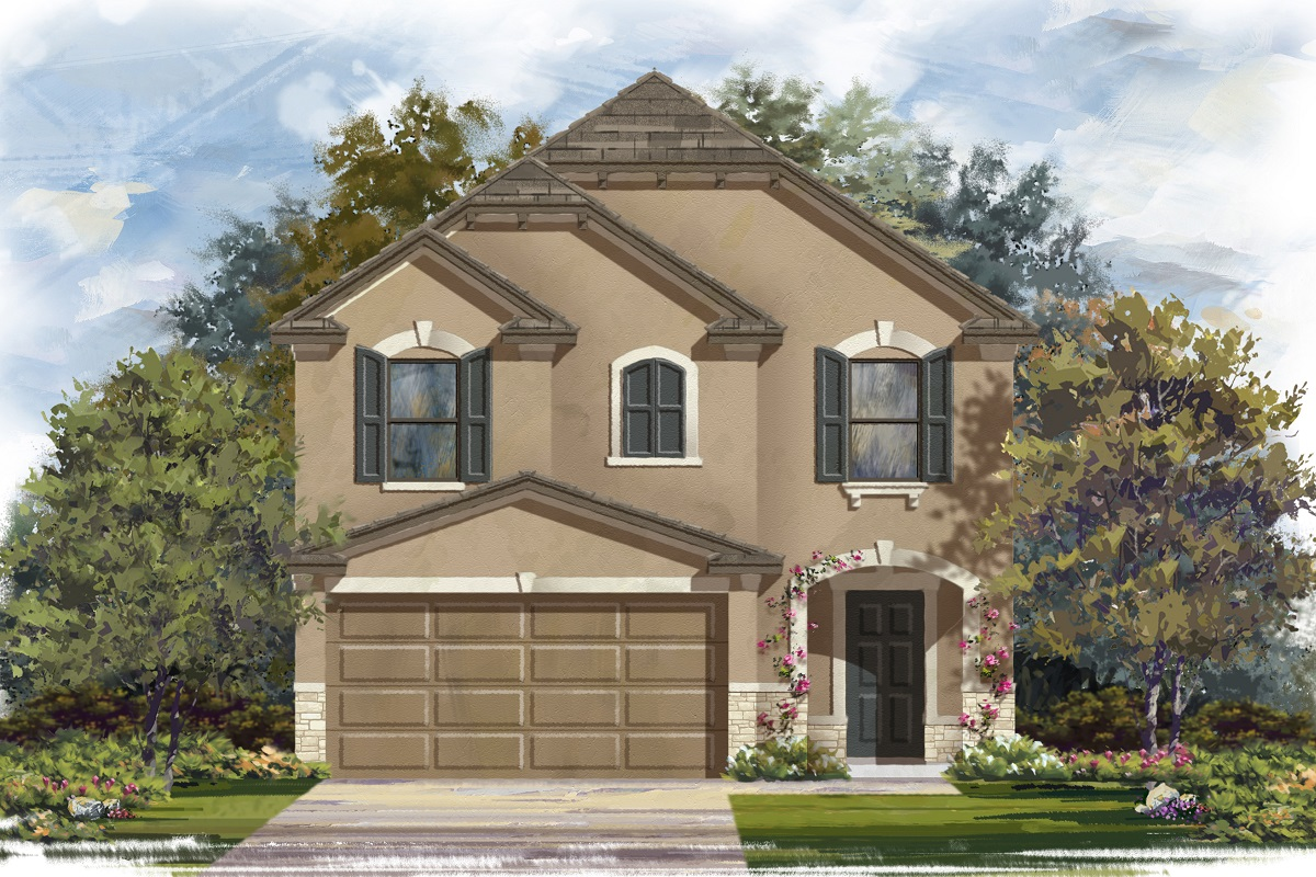 New Homes in Del Valle, TX - Plan F-1771 J