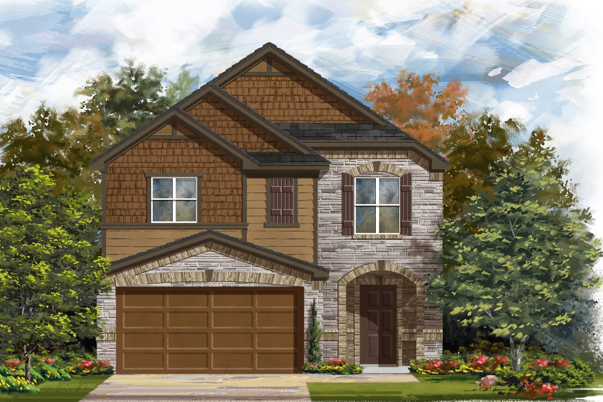 New Homes in Del Valle, TX - Plan F-1771 K