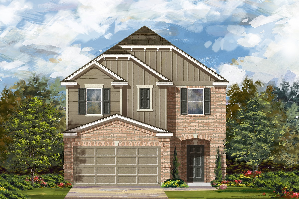 New Homes in Del Valle, TX - Plan F-1771 L