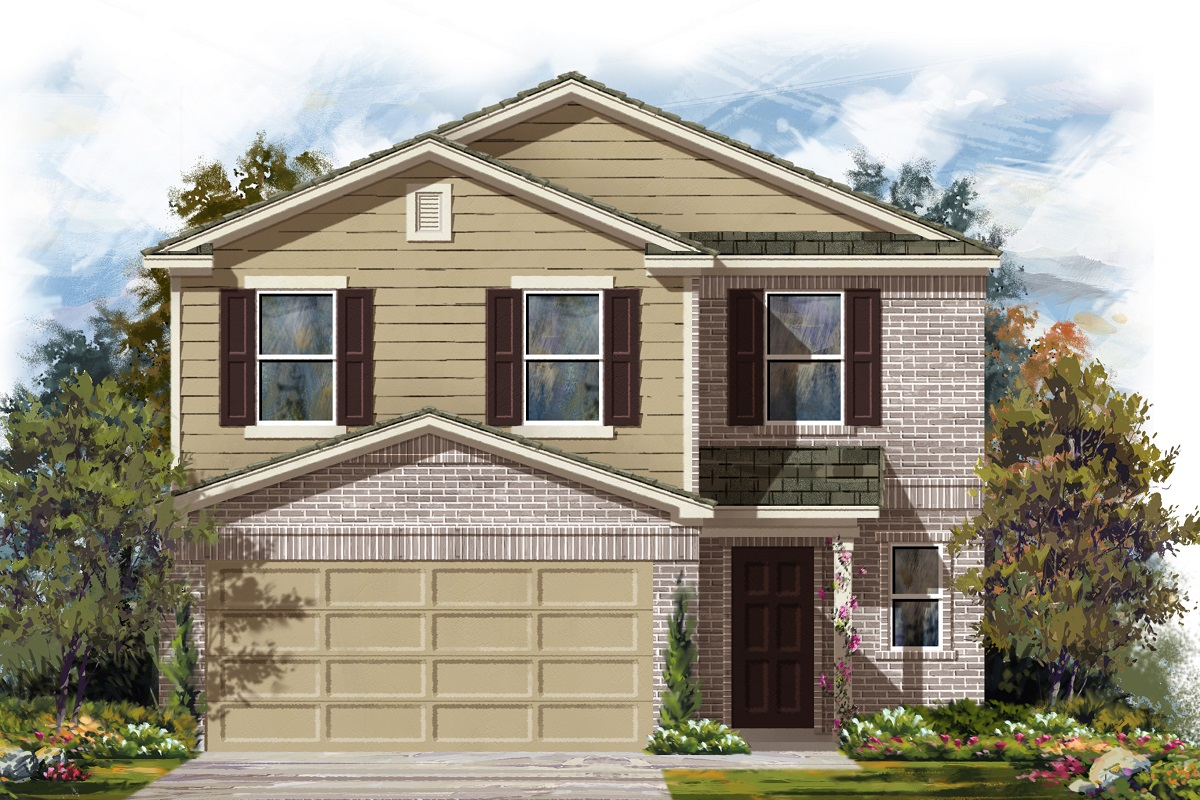 New Homes in Del Valle, TX - Plan F-2239 I
