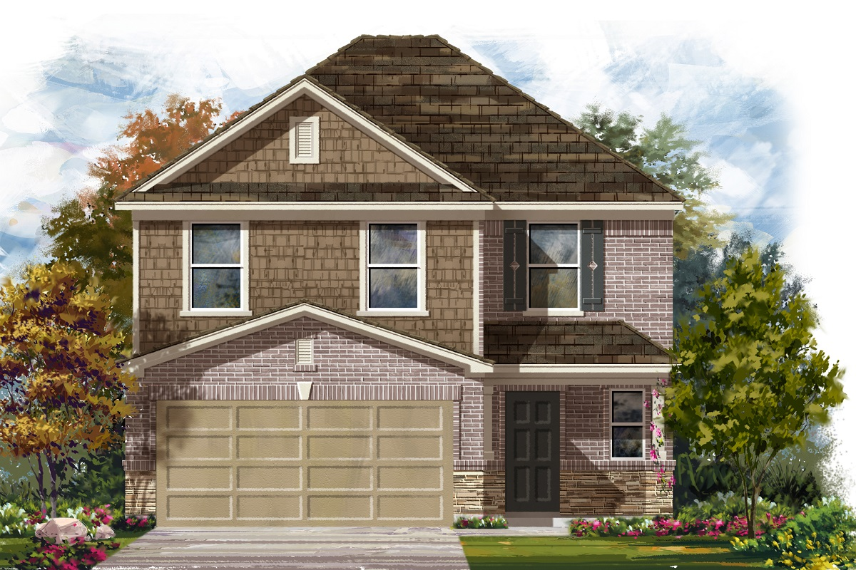 New Homes in Del Valle, TX - Plan F-2239 K