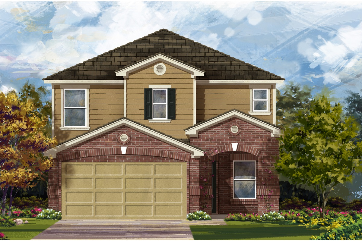 New Homes in Del Valle, TX - Plan F-2411 I