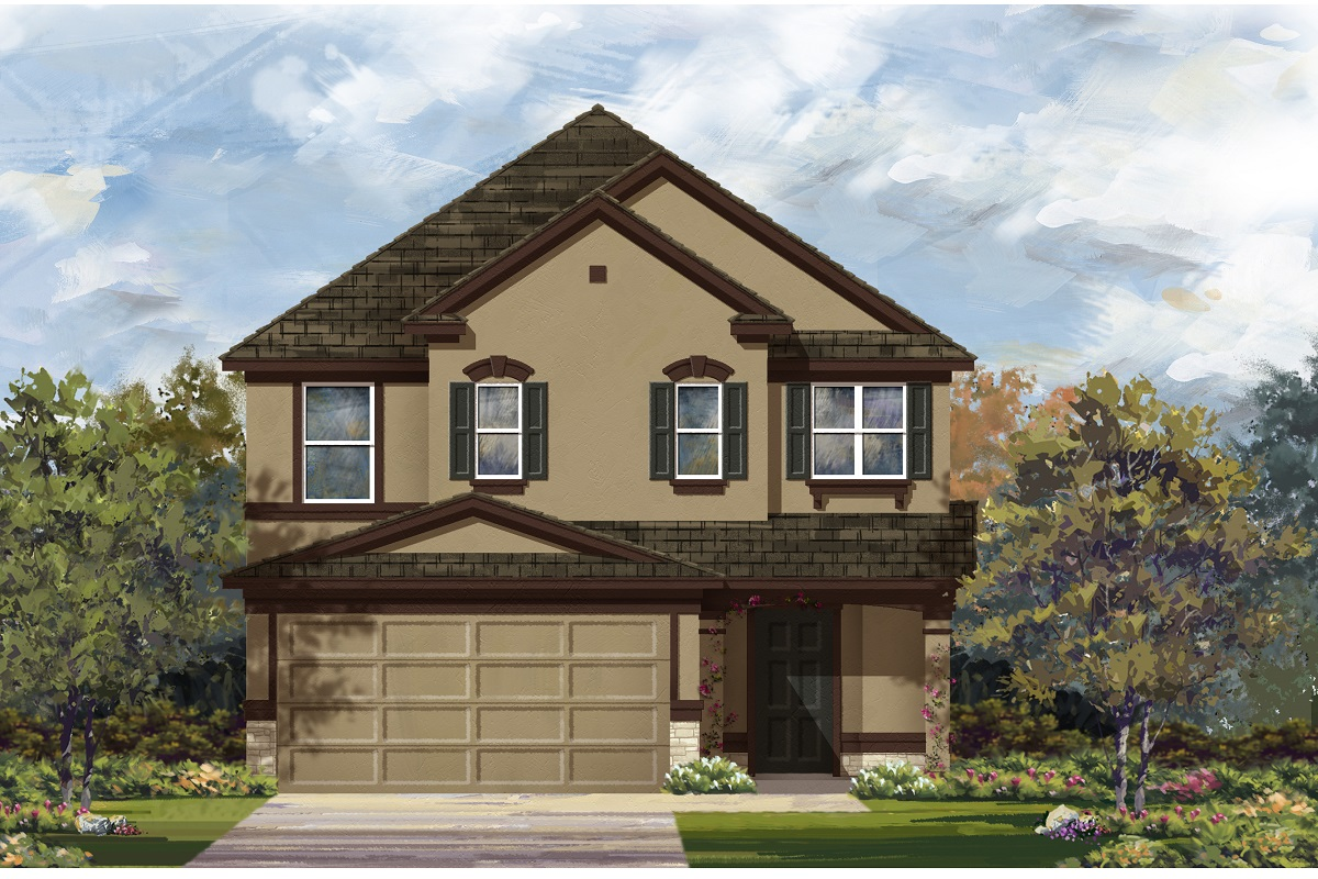 New Homes in Del Valle, TX - Plan F-2495 J