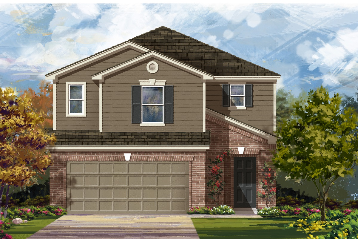New Homes in Del Valle, TX - Plan F-2604 I